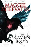 book cover of The Raven Boys by Maggie Stiefvater