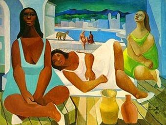 pintura de mulheres