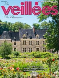 Une de nos photos du manoir natal de Ronsard en couverture de l'hebdomadaireVEILLEES DES CHAUMIERES
