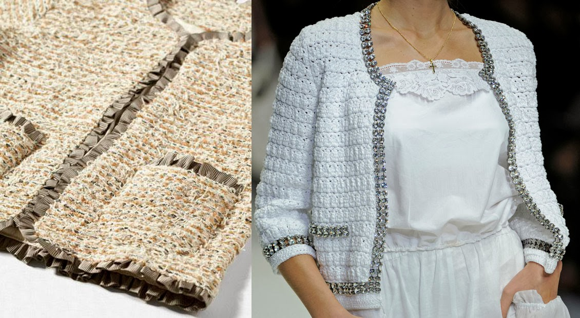 DIY Chaqueta Chanel (patrón gratis incluído) | | Oh, Mother Mine DIY!!