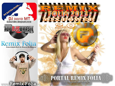 CD REMIX FOLIA MIX POWER 2.0 DJ DAVID MT