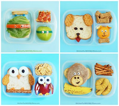 Back to School Bento Box Lunch ideas from KitchenFunWithMy3Sons.com