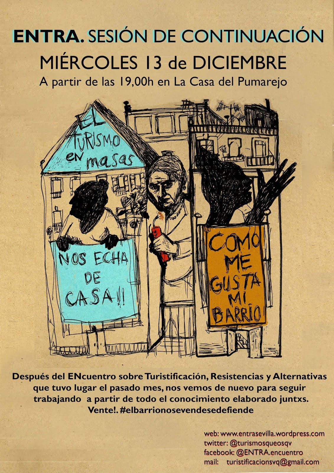 Sevilla. ENTRA. SESIÓN DE CONTINUACIÓN.