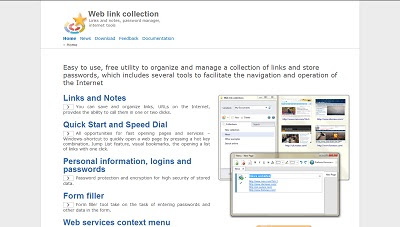 Web Link Collection, Internet