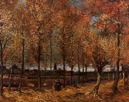 Alameda cerca de Nuenen de Vincent Van Gogh