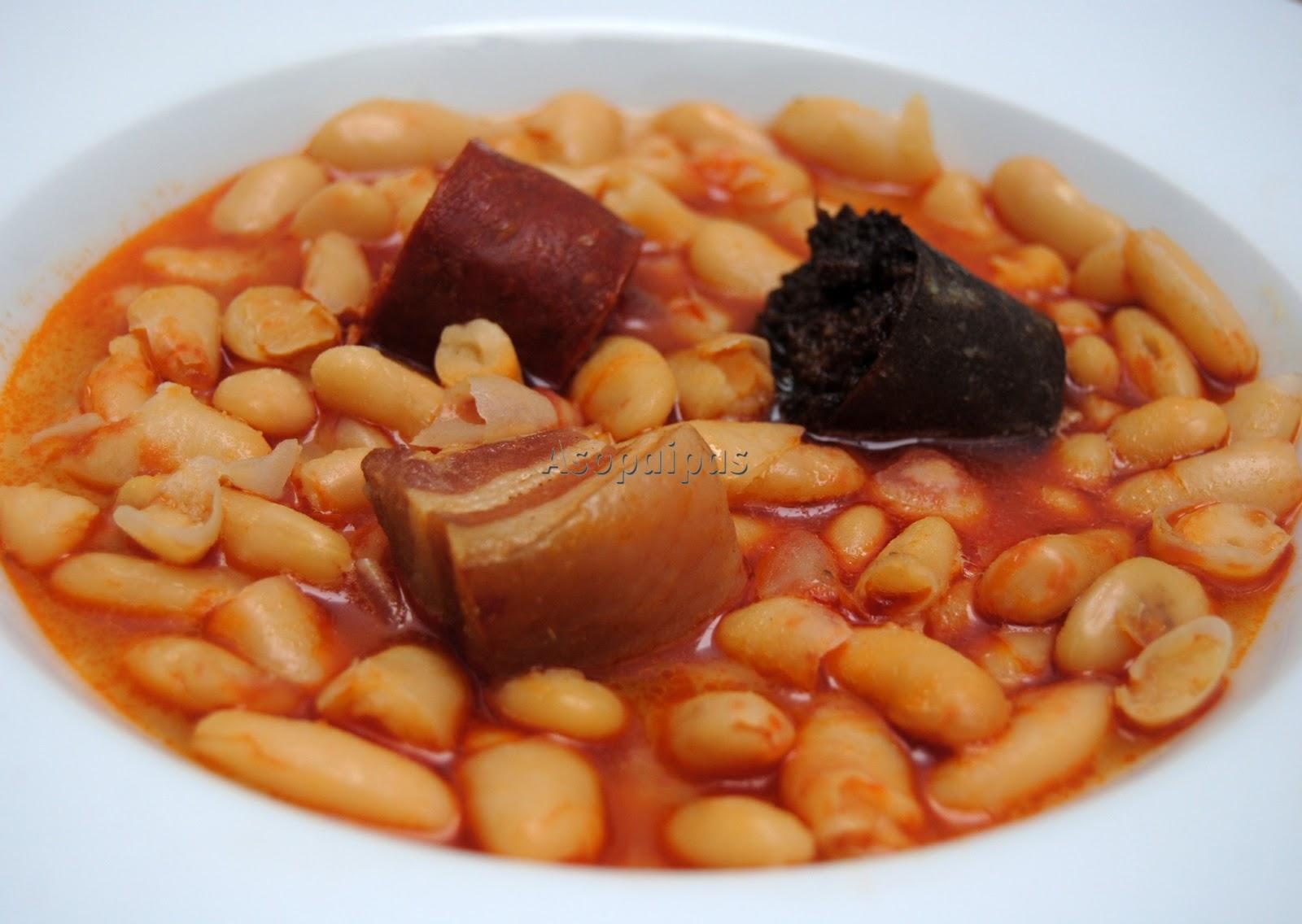 Fabada asturiana receta asopaipas recetas de cocina for Cocina asturiana