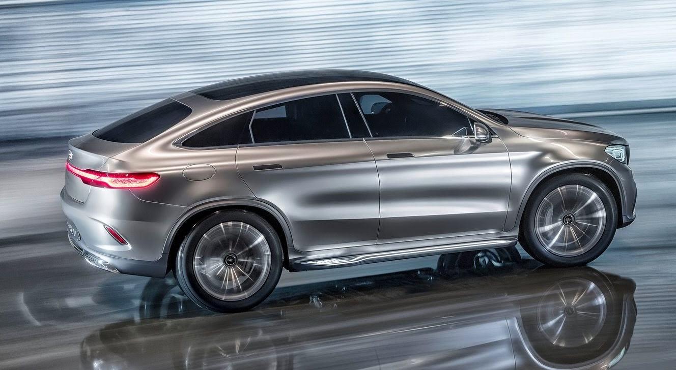Mercedes Coupe SUV concept