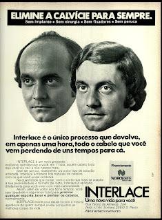 propaganda Interlace - 1974, reclame 1974.  os anos 70; propaganda na década de 70; Brazil in the 70s, história anos 70; Oswaldo Hernandez;