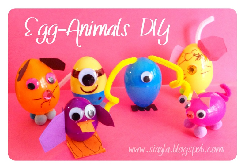 Last Year We Saved Our Plastic Eggs To Use For Crafts Before Easter This DIY Was Inspired By THESE But The Girls Ran Away With Inspiration