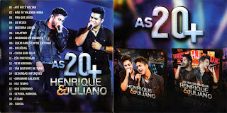 CD Henrique & Juliano – As 20+ (2015)
