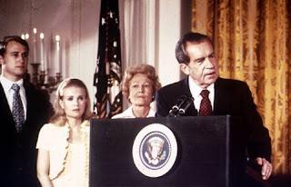 La dimisión de Richard Nixon