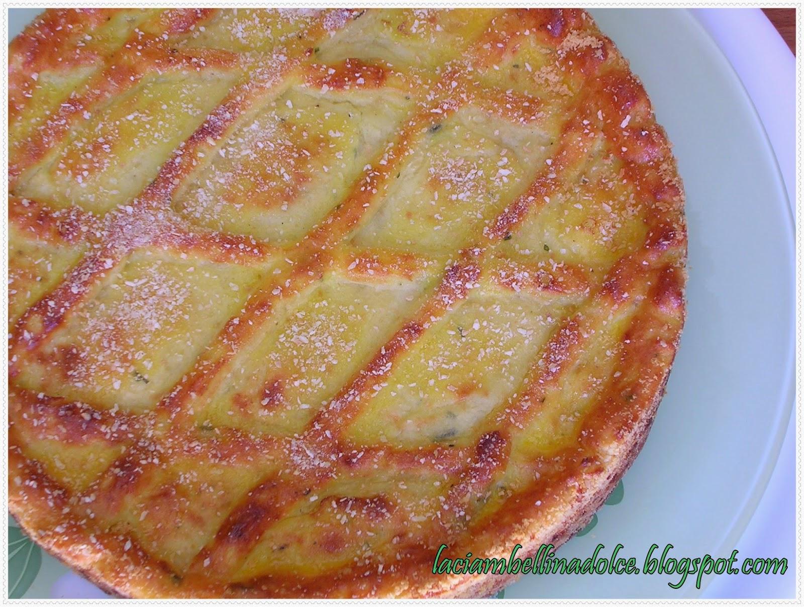 La ciambellina dolce gatt di patate - Torte salate decorate ...