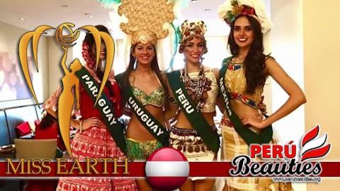 Miss Perú presenta su traje de fantasía en Miss Earth 2015
