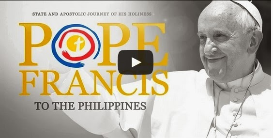 Pope Francis in the Philippines 2015 Live Streaming Video