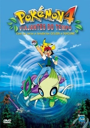 Pokémon 4 - Viajantes do Tempo 1080p Torrent torrent download capa