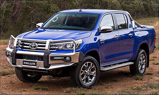 2017 Toyota Hilux Accessories