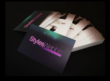 8) Business Card