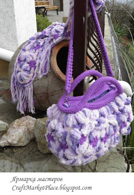 вязаные сумки купить, ручное вязание, сумки молодёжные