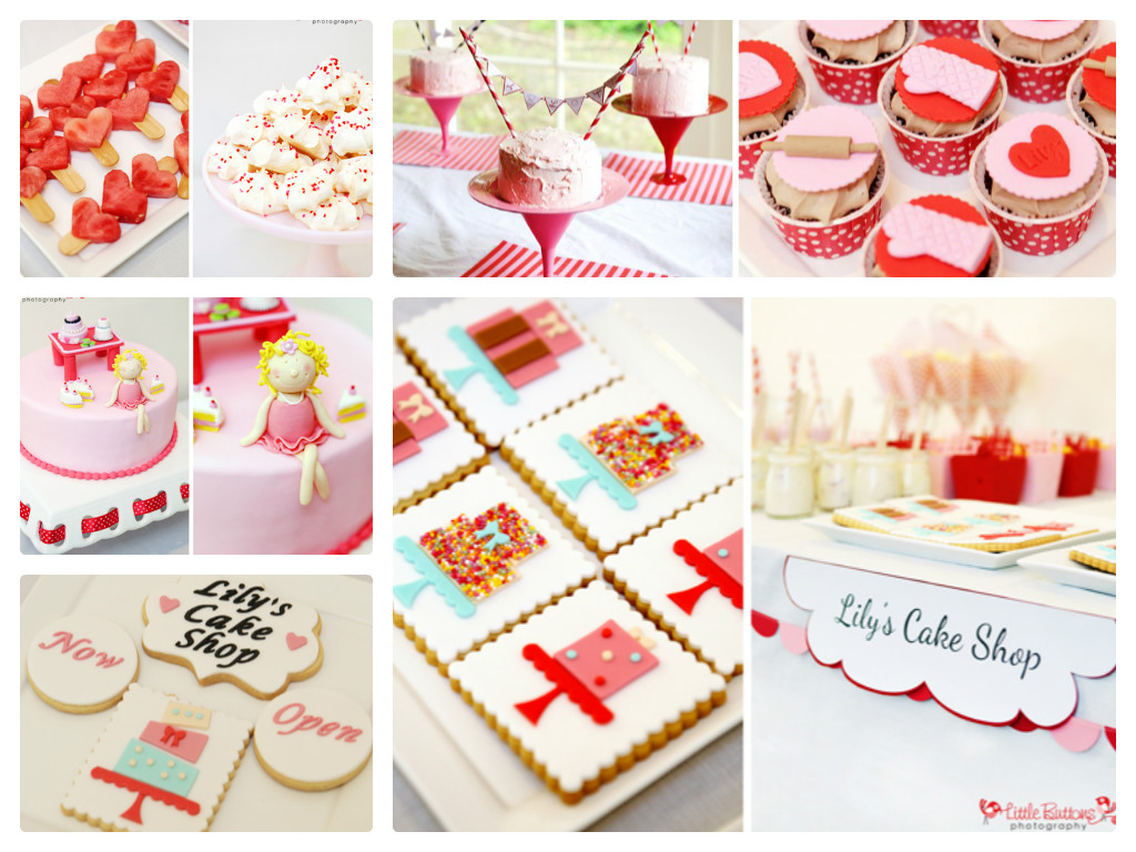 Birthday Cake Decorating Ideas Blog : Little Big Company The Blog: Cake Decorating Birthday Party by Bronnie Bakes
