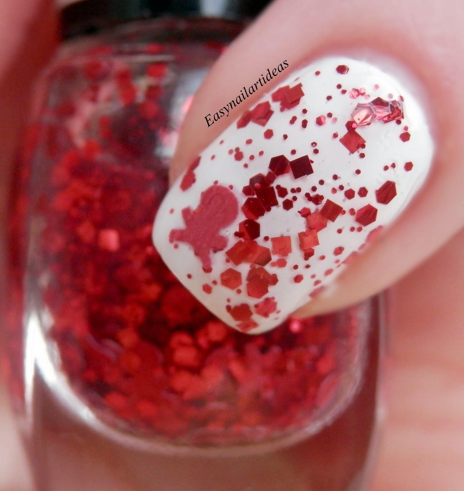 EASY NAIL ART and make-up IDEAS: Paint Shop Polish: Vampire Diaries ...