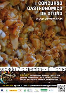 I Concurso Gastronómico de Otoño