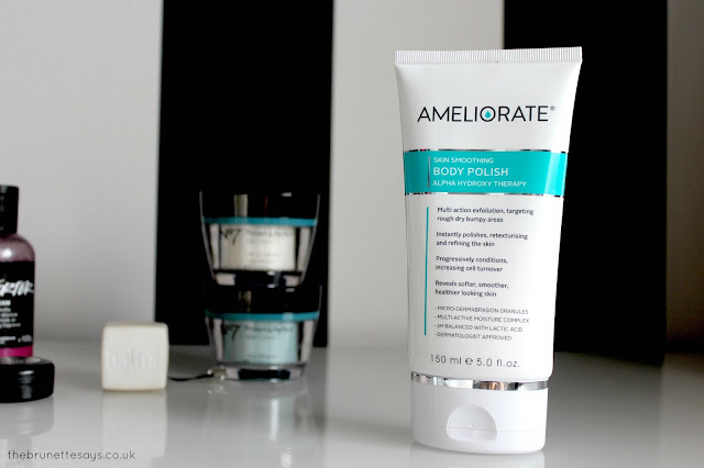 Ameliorate, body polish, keratosis pilaris, beauty