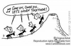 gambar kartun semut - gambar semut