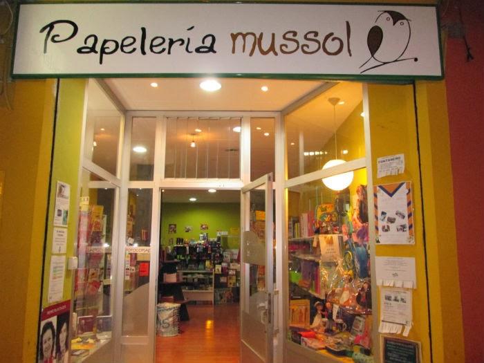 Papeler a librer a mussol comercios valencia for Material oficina valencia