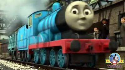 Thomas and friends Edward the really useful engine Knapford old legendary passenger railway carriage