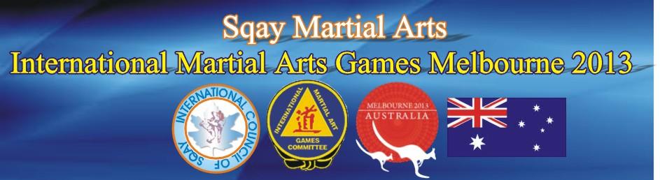 Sqay Martial Arts - 5 International Martial Arts Games Melbourne 2013