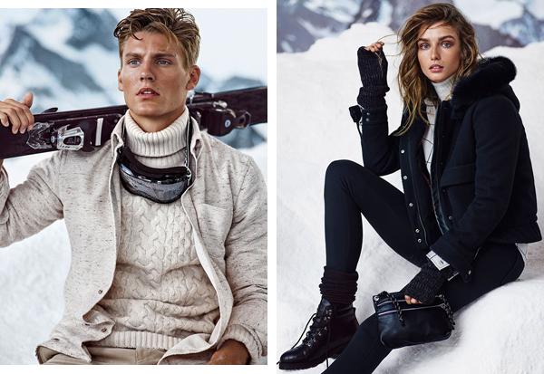 Massimo Dutti Après Ski moda accesorios