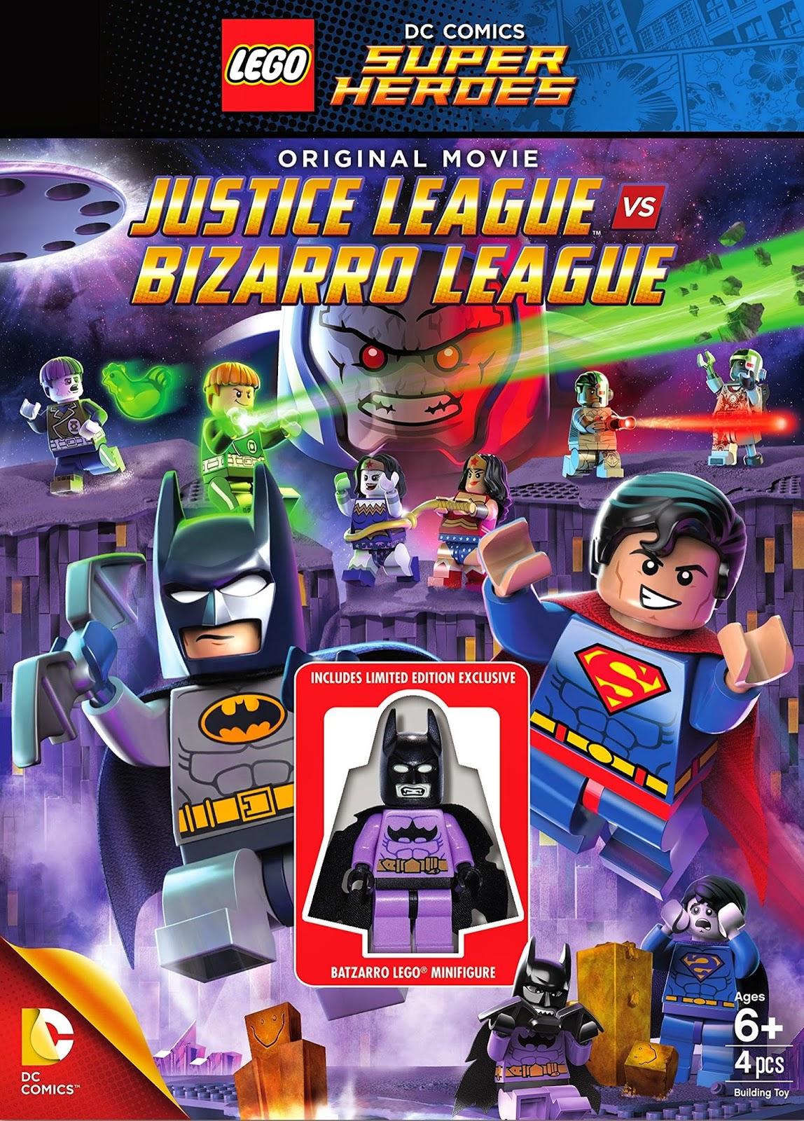LEGO Super Heróis: Liga da Justiça vs. Liga Bizarra Dublado