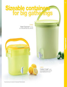 WATER DISPENSER TUPPERWARE