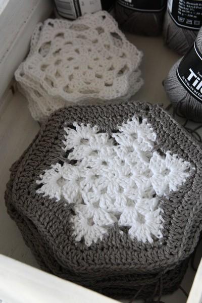 andrella liebt herzen: Schneeflöckchendecke