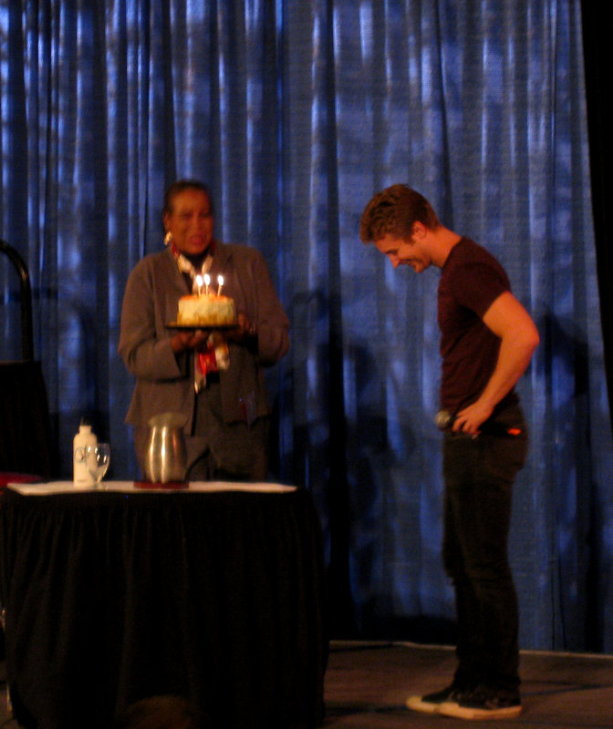 Michael Welch at Shore Leave 2014