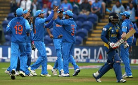 Champions trophy 2013 India vs Sri Lanka, Ind vs SL Scorecard,