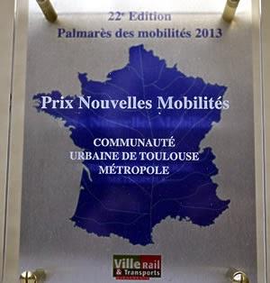 Prix Nouvelles Mobilités pour le plan vélo de Toulouse Métropole