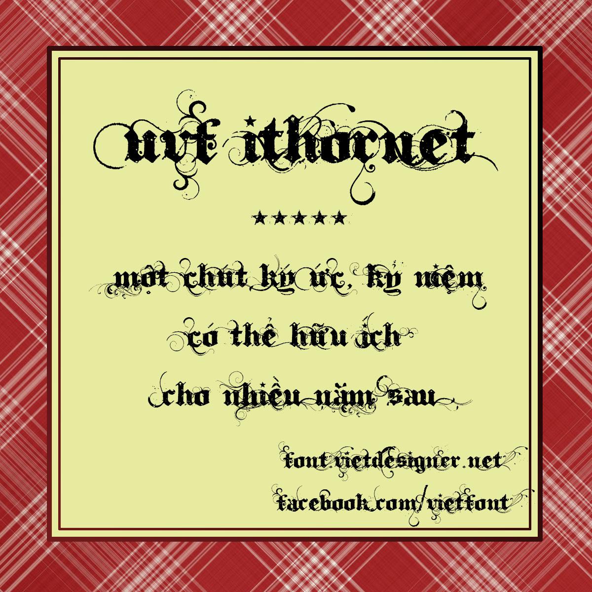 [Gothic] UVF Ithornet Việt hóa