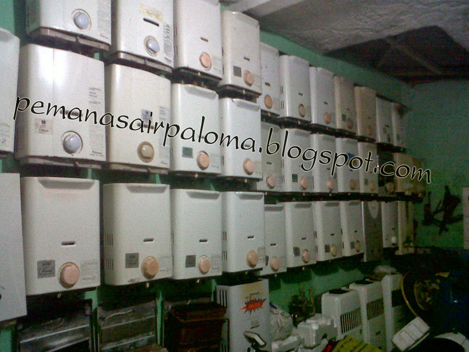 Jual Pemanas Air murah Rinnai Paloma Modena Wasser Gainsborough Ariston Panasonic