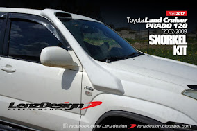 Toyota Land Cruiser Prado 120 Snorkel Kit