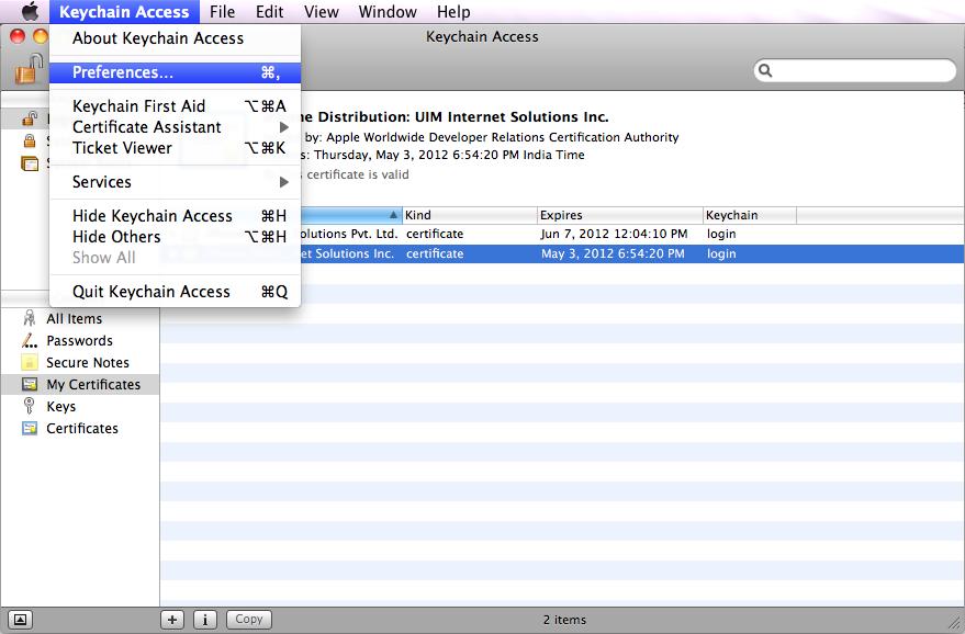 access keychain on ipad - 879×578