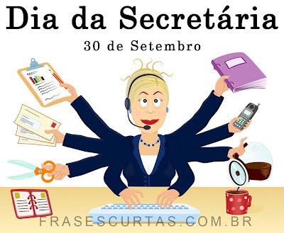 Homenagem ao Dia da Secretária