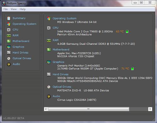 speccy, speccy picture, speccy download, konfiguracija racunara, konfiguracija kompjutera,
