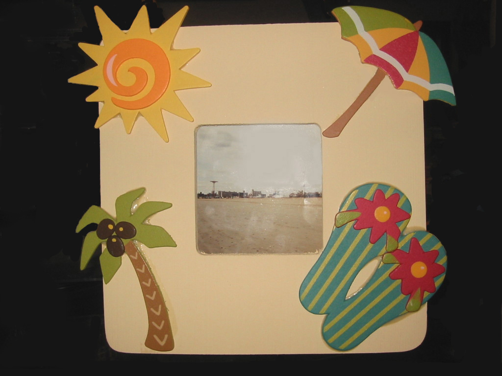 artisan\'s craft: CEREMIC ND PAPER HANDMADE PHOTO FRAMES