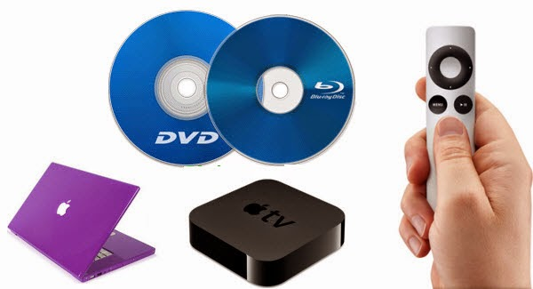 Copy 100 DVDs/Blu-rays on Mac Laptop or Apple TV 3