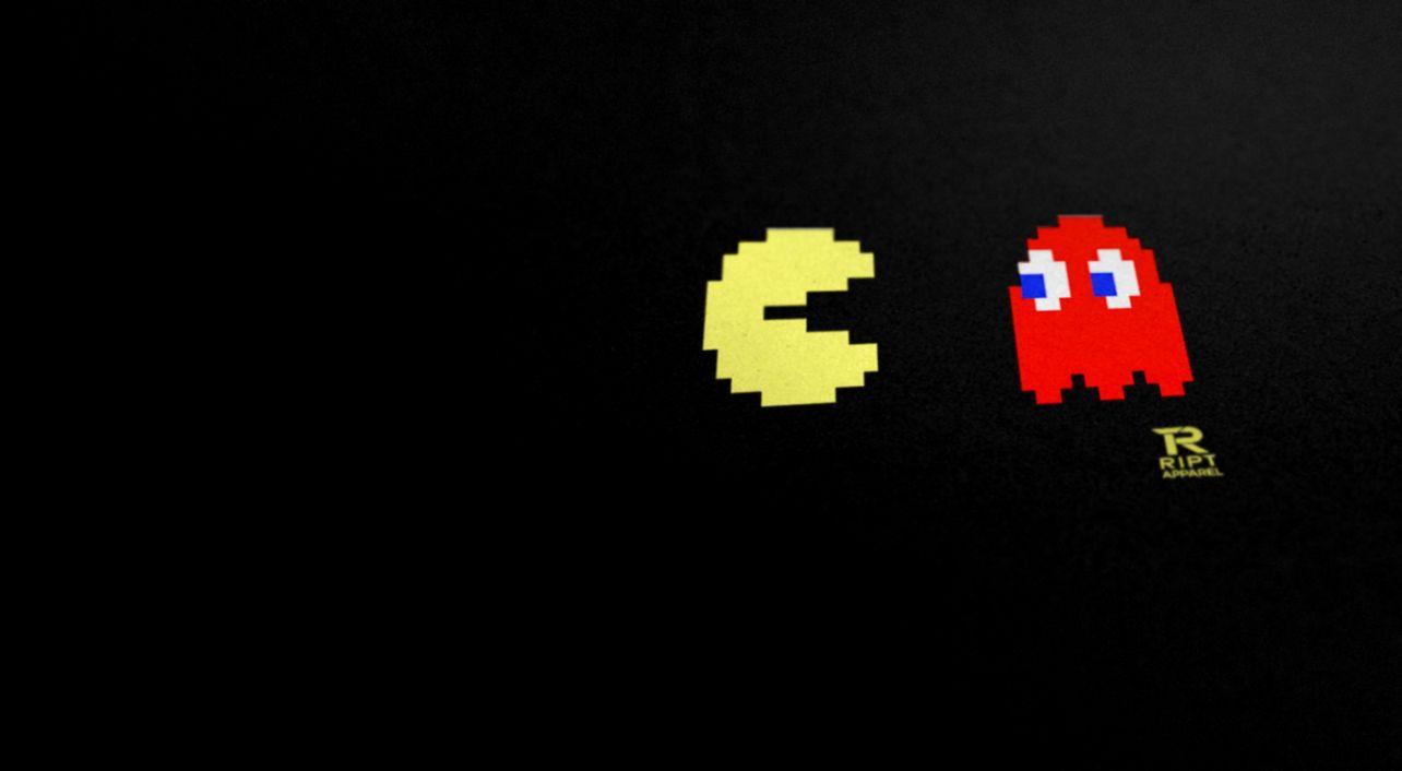 RIPT T Shirts Pac Man Poster amp Wallpaper iPhone 5 and iPad