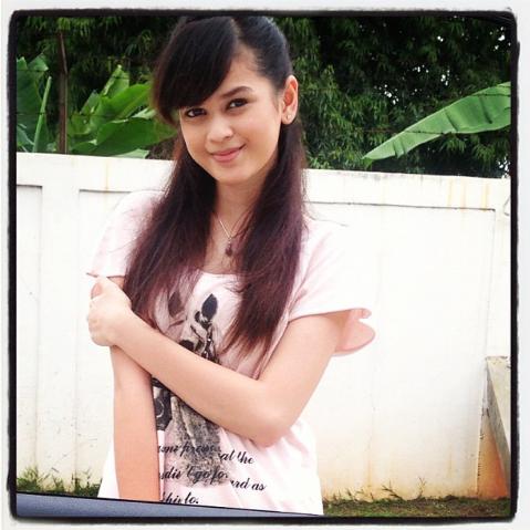 Foto cantik selfie Cut Ratu Meyriska