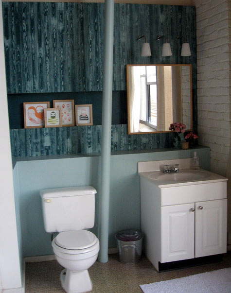 Lavatorio Baño Pequeno:Very Small Bathroom Decorating Ideas