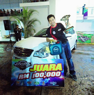 hadiah juara super spontan 2013, hadiah jep super spontan 2013 kereta