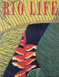 Capa da revista Rio Life, Vol. 7, n. 6.